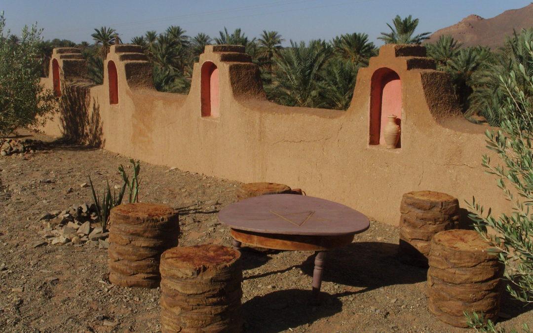 Auberge Kasbah MAGGAMANTafraoute Sidi Ali