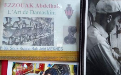 Ezzouak AbdelhalL'art de DamaskiniMeknès