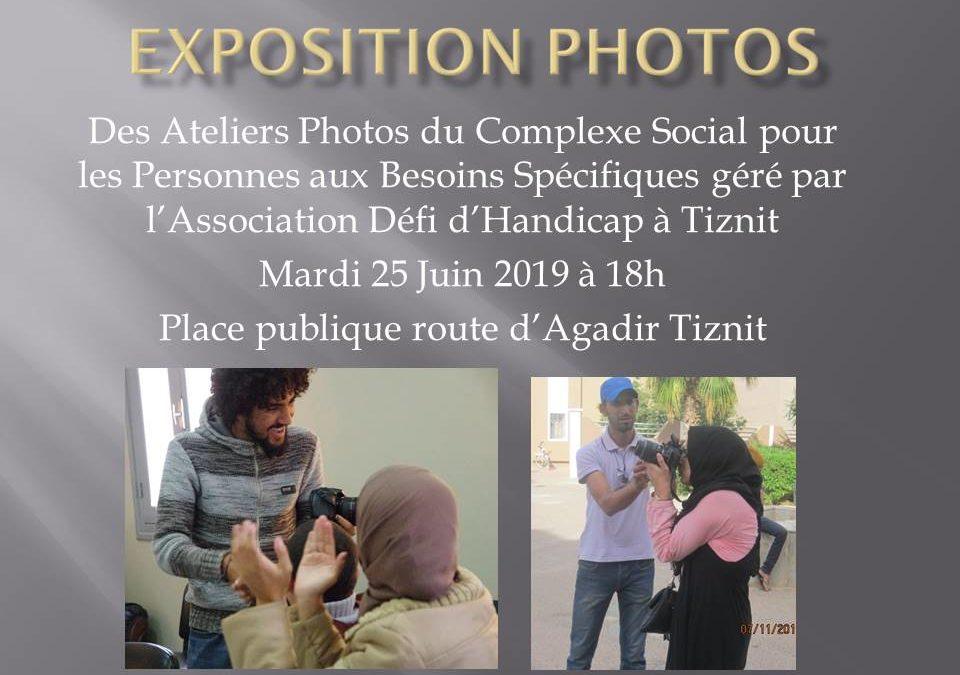 EXPOSITION des ateliers photos du complexe social pour les personnes aux besoins spécifiques